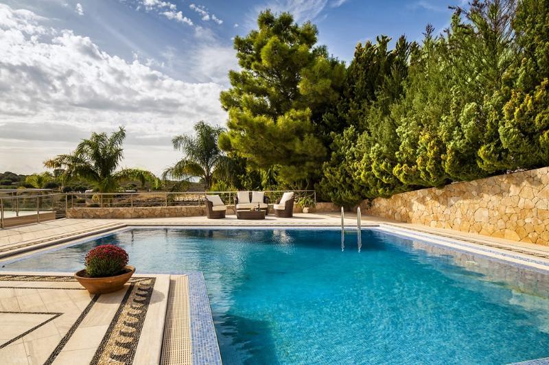 Luxurious  eight bdrm villa, pool, privacy,beach nearby, holiday rental in Kampani