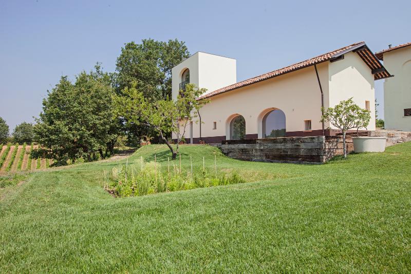 Borgo Merlassino, the garden