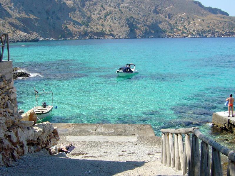Maison avec piscine, magnifique vue mer, holiday rental in Kefalas