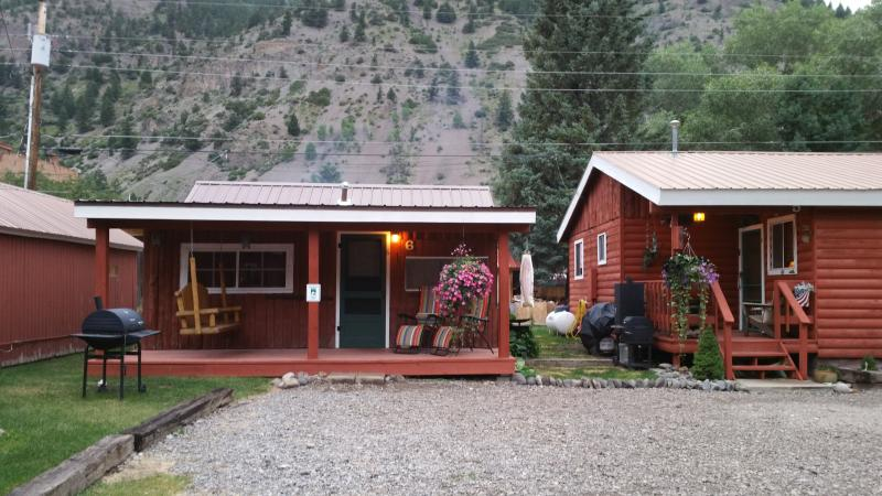 Outside cabin 6