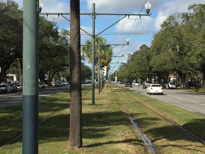 Streetcar Tracks to the Quarter