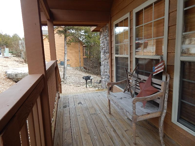 Sit back, relax and enjoy the fresh country air from the front porch