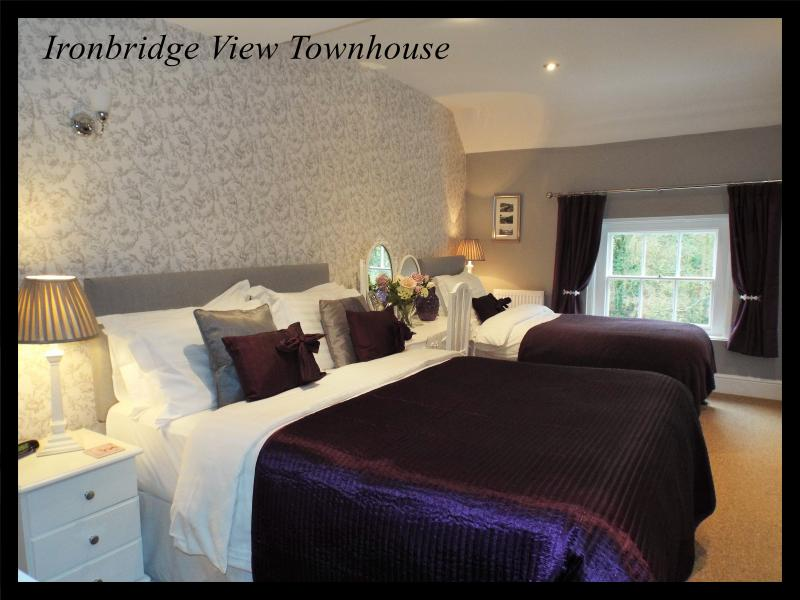 Luxury Self Catering Sleeps 2/3. View of the Iron Bridge from the armchair. Perfect location.