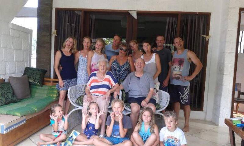 This guest from Australia celebrate birthday with us. Fun Place for families, kids n older person.