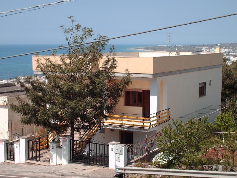 Vista esterna casa
