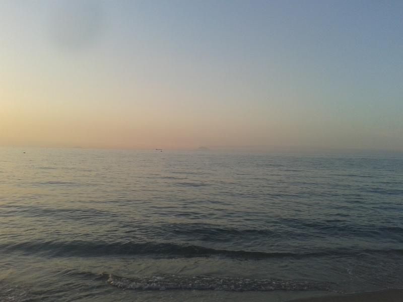 mare con vista di Stromboli