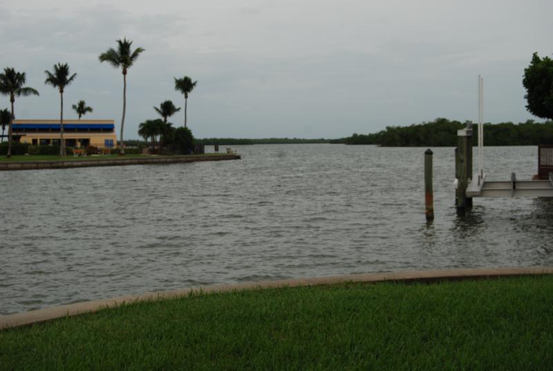 Inner Coastal Waterway--yards from condo...