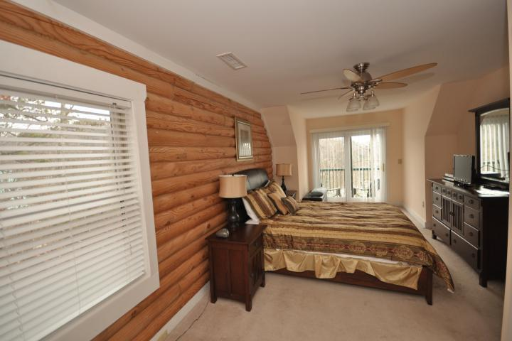 This guest bedroom is perfect for couples or singles!