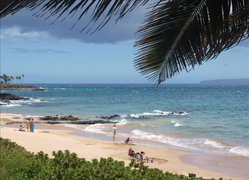 Kamaole III Beach Park  right across from condo - Kamaole Beaches recently named best in Kihei!