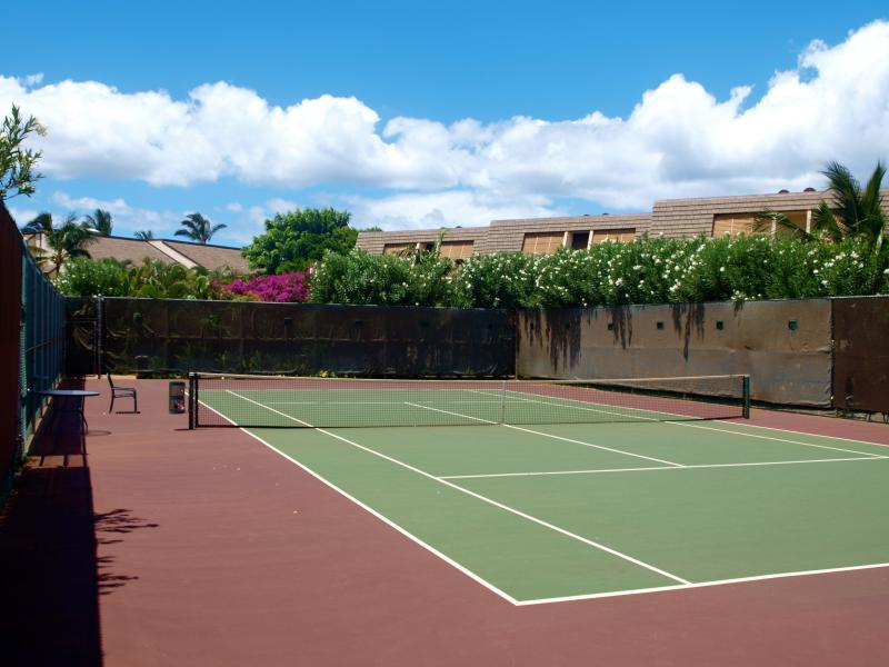 Maui Kamaole has on-site tennis courts for guest use