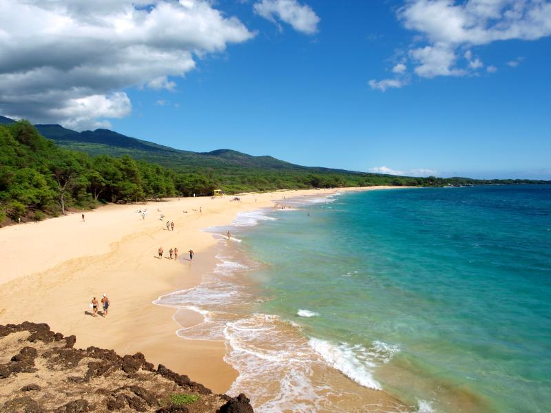 Makena, w/gorgeous Big Beach & clothing-optional Little Beach is a 10minute drive from the condo