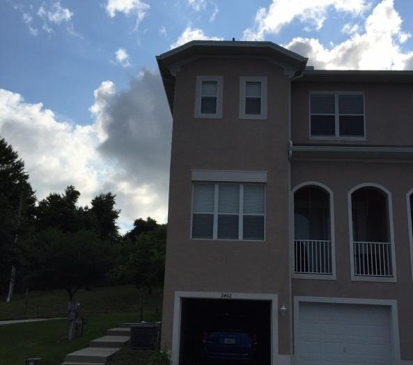 Large 3 bedroom, 3 1/2 bath townhouse with Lake Tarpon access and two car garage.
