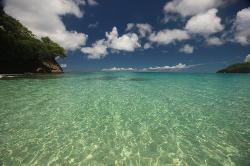 Princess Margaret Beach. Crystal clear water, pristine, safe and unspoilt
