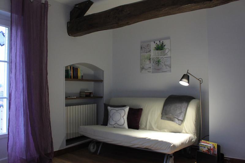 Lavender sitting room