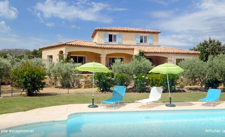 Villa Provence pisc chauffée prox Aix, Marseille, holiday rental in Pelissanne