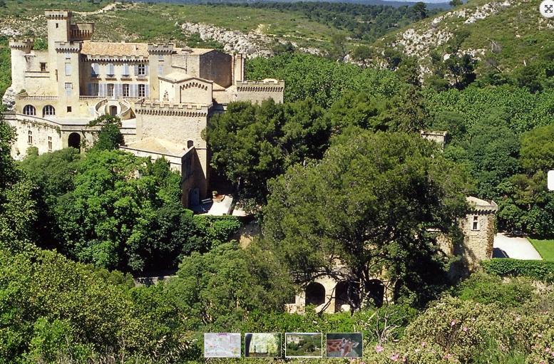 Chateau et ZOO de la Barben : 3 km