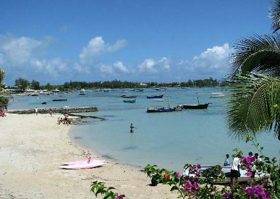 Grand Gaube public beach @ 80metres from the villa... 1min walk to the beach