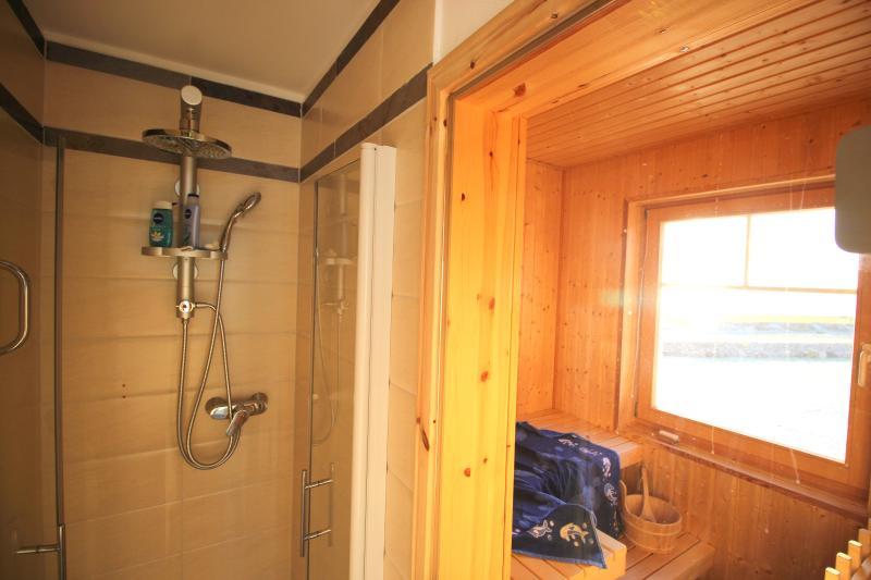 Sauna im 2. Obergeschoss