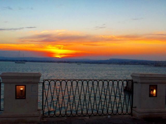 Sunset in Ortigia
