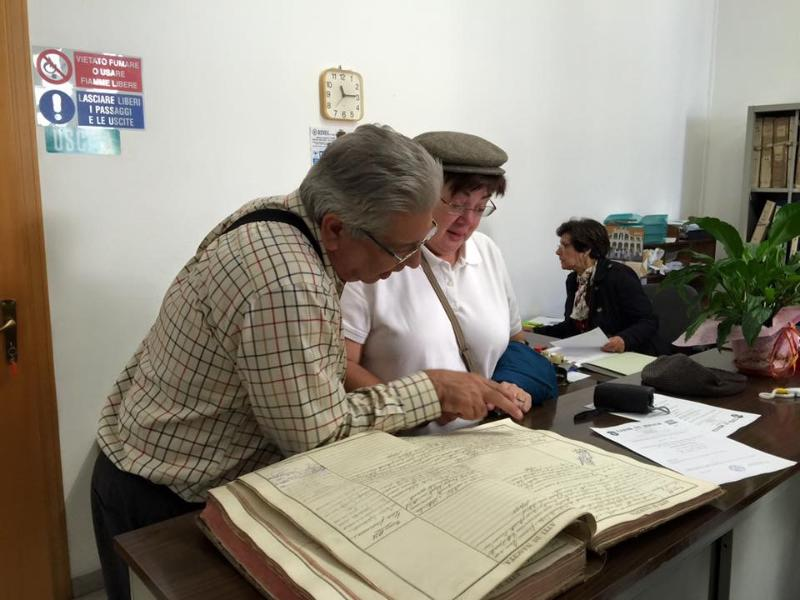 Helping guests trace their ancestry and collect documents