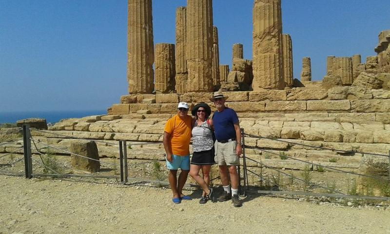 We can arrange a day in Agrigento to see the Temples