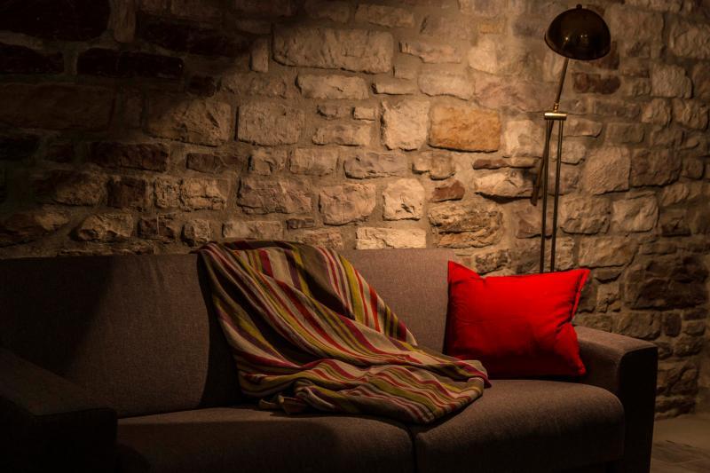 un angolo sofà -  residenza la corte Assisi