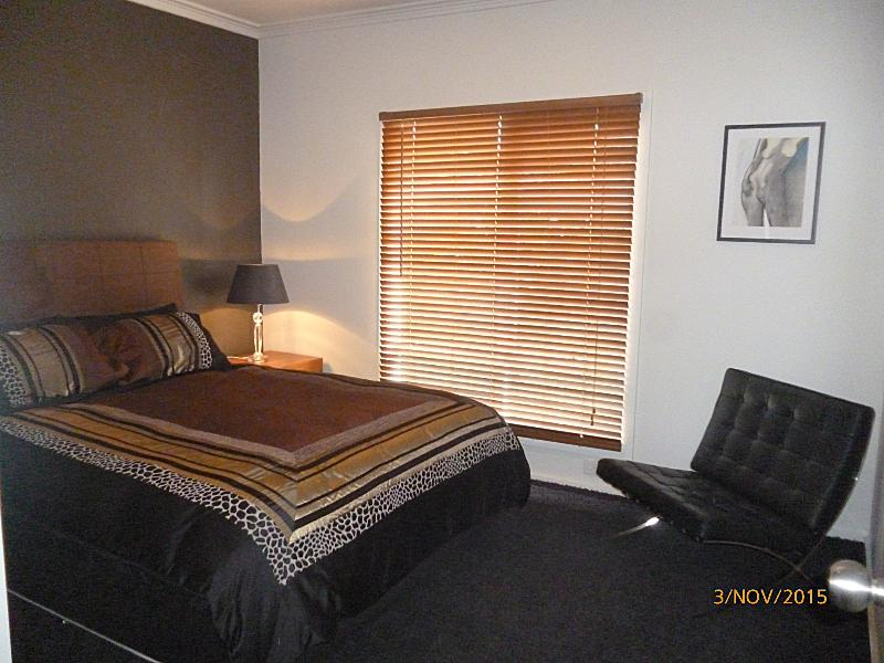 Queen bed with pillow top
