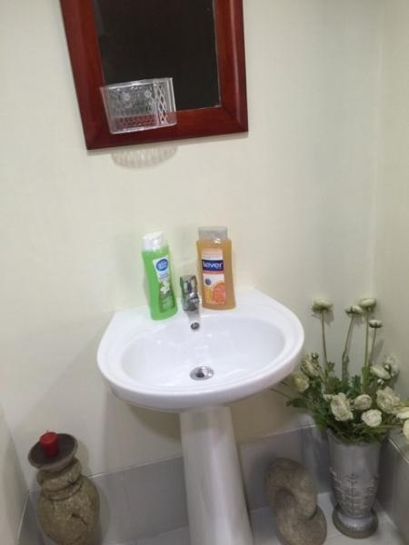 Brand new washroom with Body soap, shampoo, and towels all supplied to make your stay unforgettable