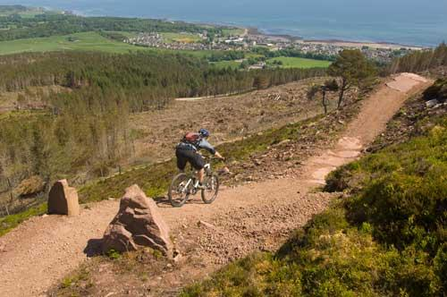 World class mountain bike trails are 6 miles south at Golspie.