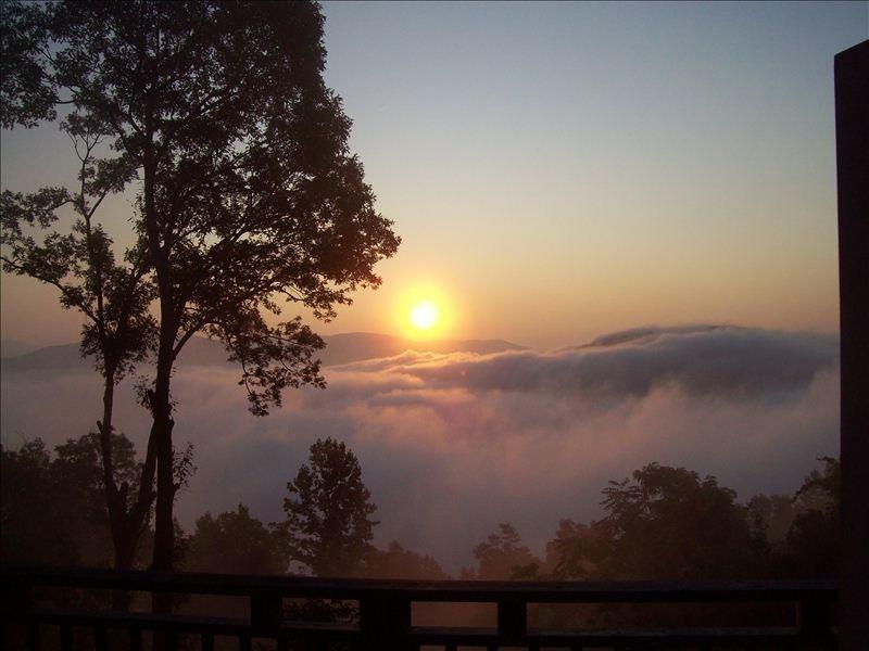 le lever du soleil d'été