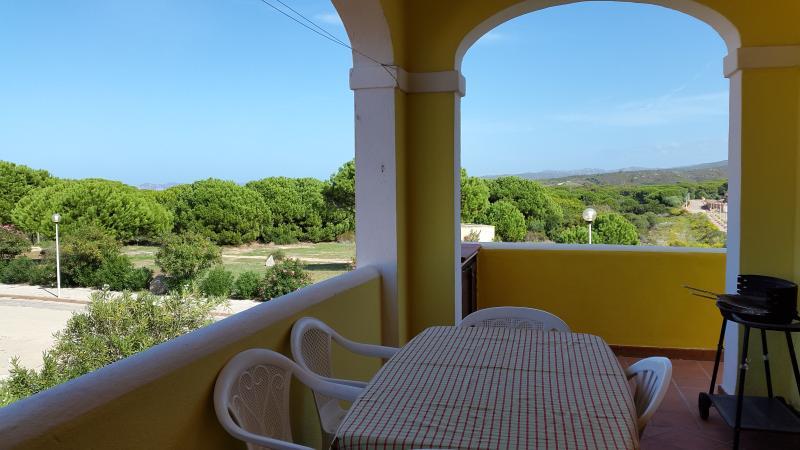 Terrazza con vista campagna (mare-Corsica)
