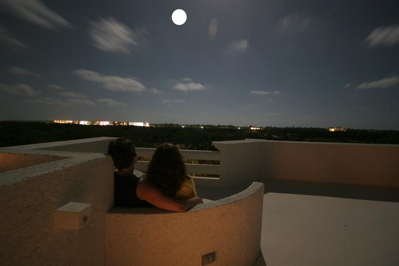 Stargaze and count the falling stars from the rooftop terrace