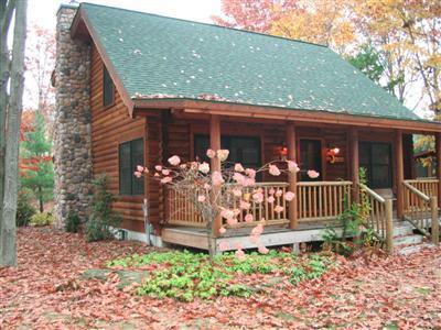 Sugar Shack - Luxury Log Home at Goshorn Lake w/ Hot Tub & Canoe, vacation rental in Saugatuck