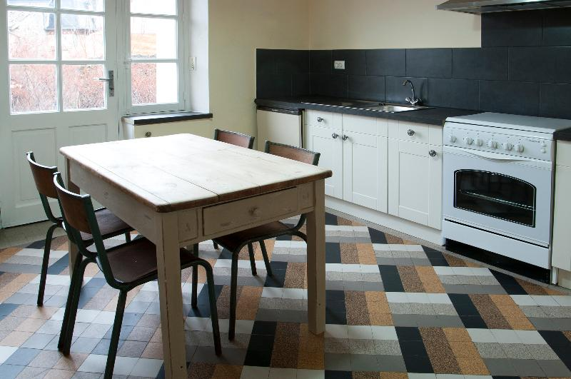 Fully fitted kitchen where you can make your own coffee or meal