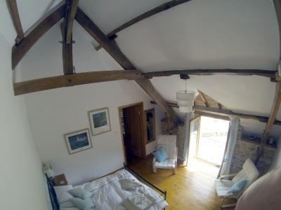 MAIN DOUBLE BEDROOM GITE MICHEL