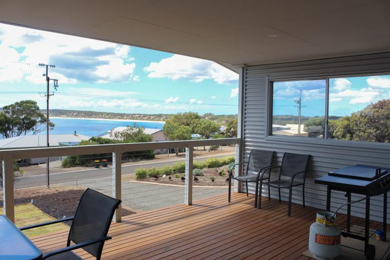 Balcony overlooking Emu Bay