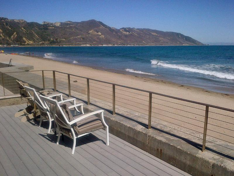 Ocean Front House Faria Beach, near Santa Barbara, vacation rental in Ventura