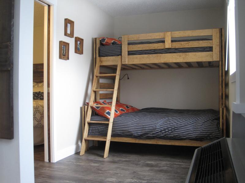Solid Wood Bunk Beds, Sleeps 3!!