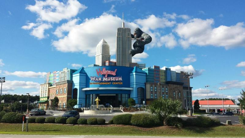 Local Attractions: NEW! Hollywood Wax Museum  (3.5 miles from condo)