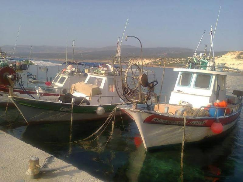 Agios Georgios harbor just some minutes drive!