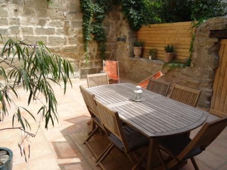 terrasse de 30 m² en toute intimité