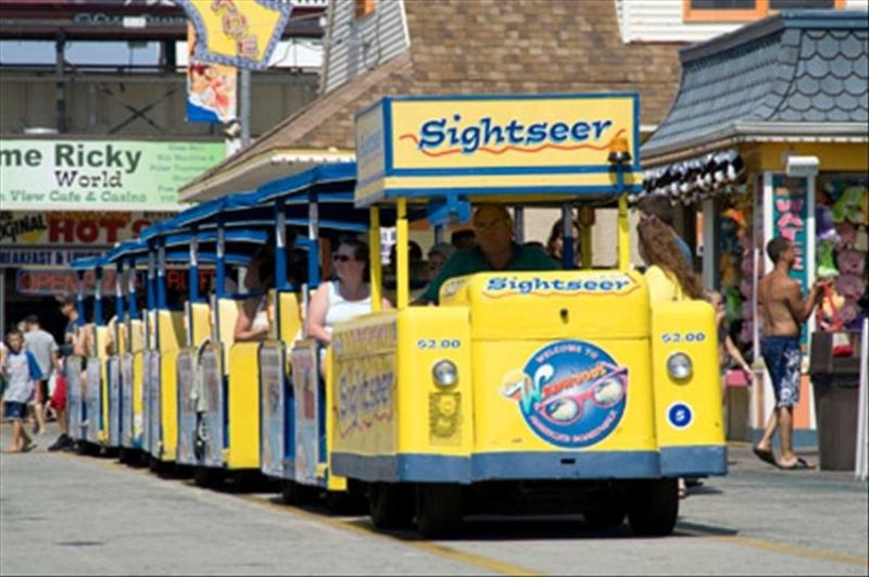 Watch the tram car please.