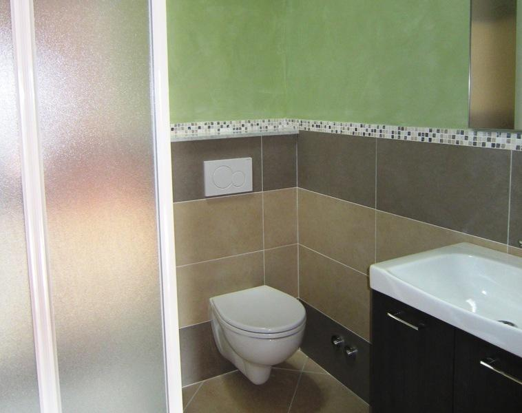 Another pristine shower room