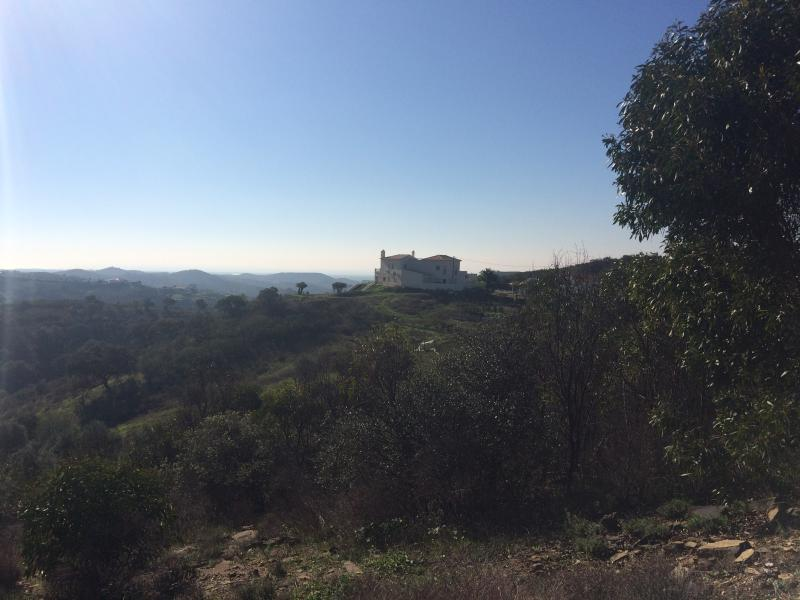 Beautiful rural location sitting on a hill-top looking down to Tavira and the Mediterranean