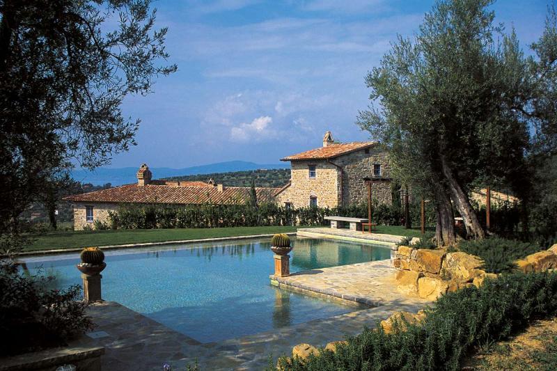 Beautiful villa exterior