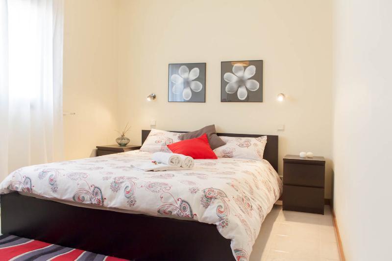 Main bedroom in a suite
