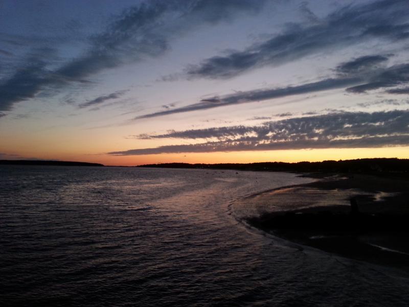 Bayside sunset