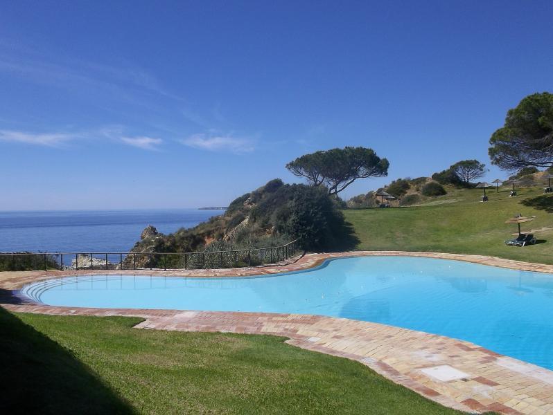 Ocean pool on the clifftop
