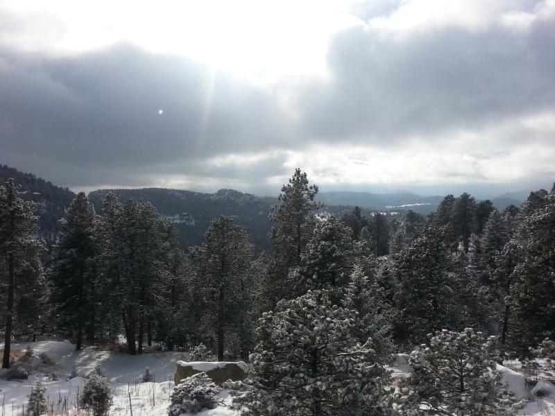 Winter View at Colorado Dream Vacation