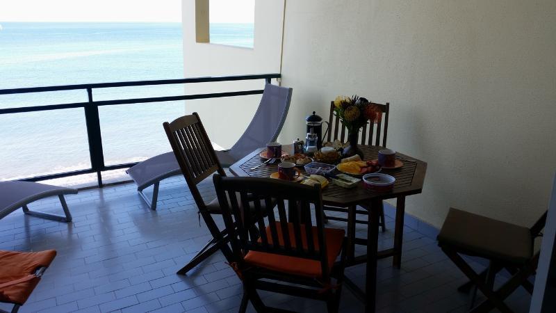 Breakfast on the terrace
